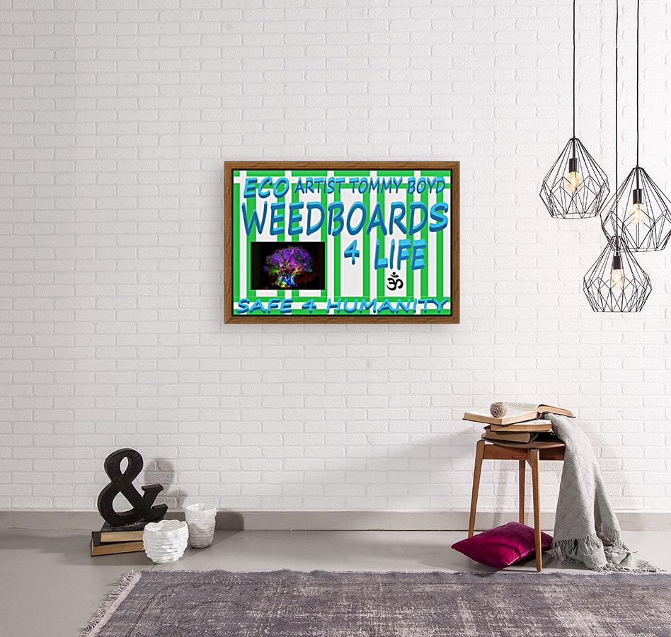 ECO WEEDBOARDS 4 LIFE   ECO ARTIST TOMMY BOYD  Art