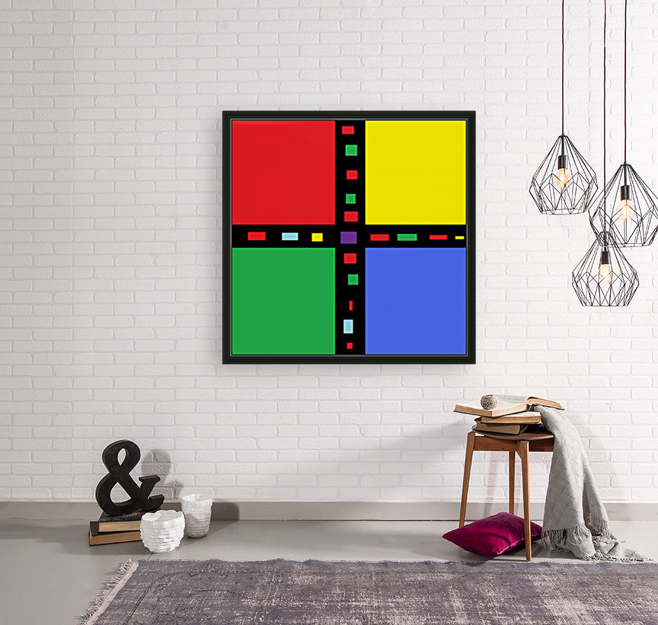 Abstract Art (3)_1559312395.5198 with Floating Frame
