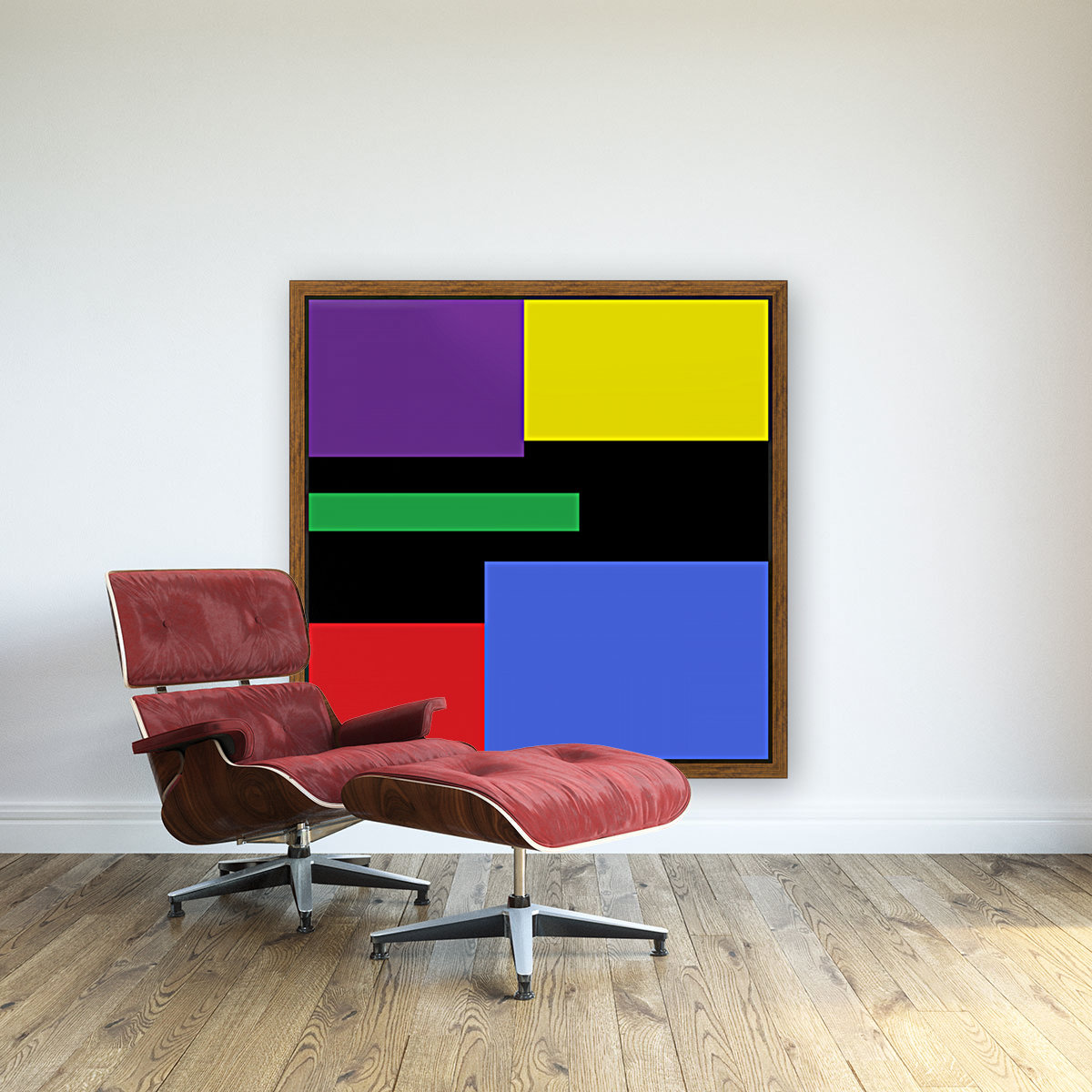 This is a beautiful design with great color, shape, line, texture, space and value.  (35)  Art