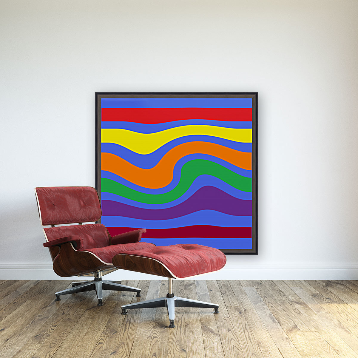 This is a beautiful design with great color, shape, line, texture, space and value.  (27)  Art