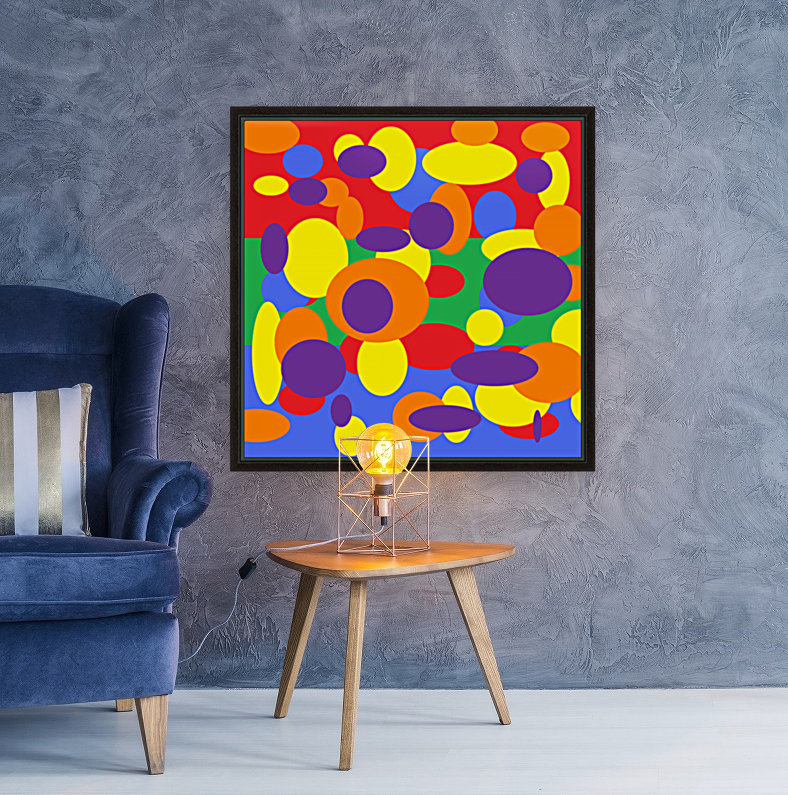 This is a beautiful design with great color, shape, line, texture, space and value.  (11)  Art