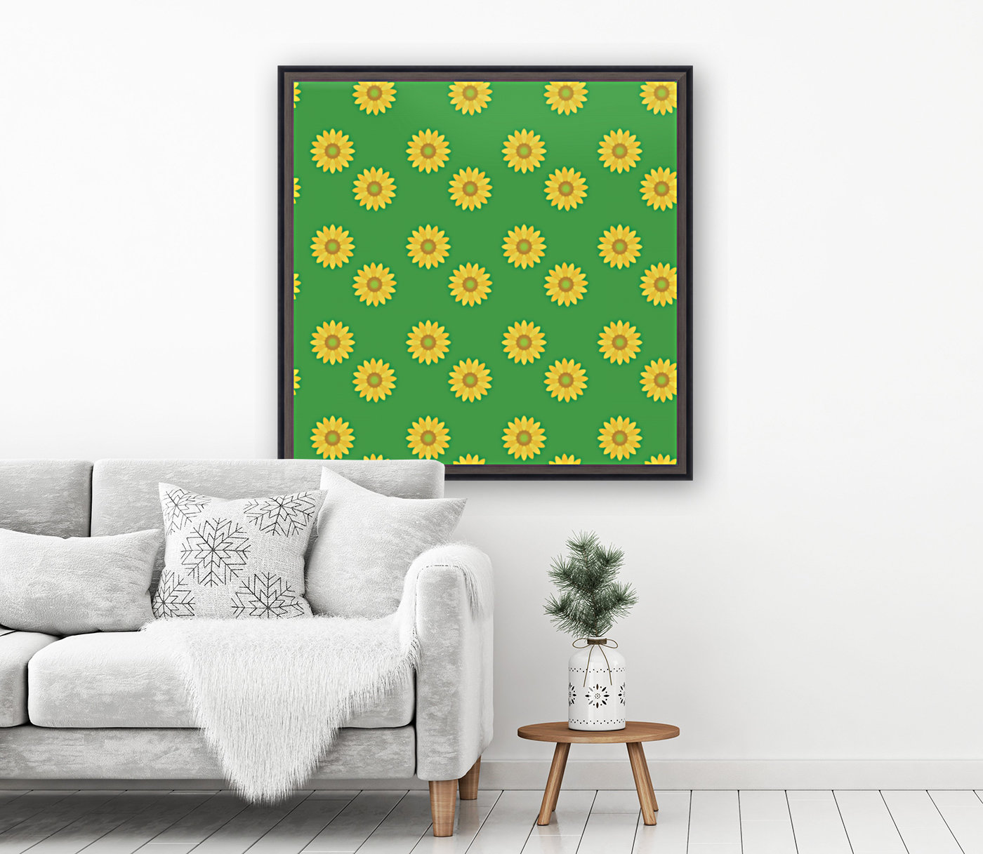 Sunflower (38)_1559876736.7714 with Floating Frame