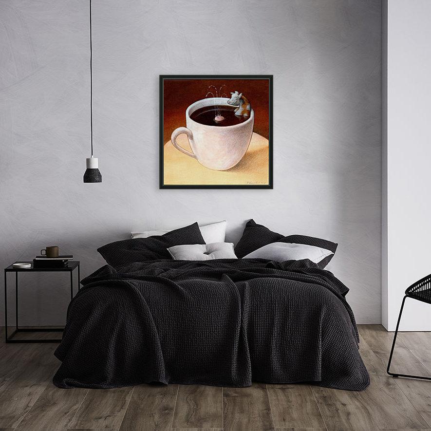 Coffee with milk  Art