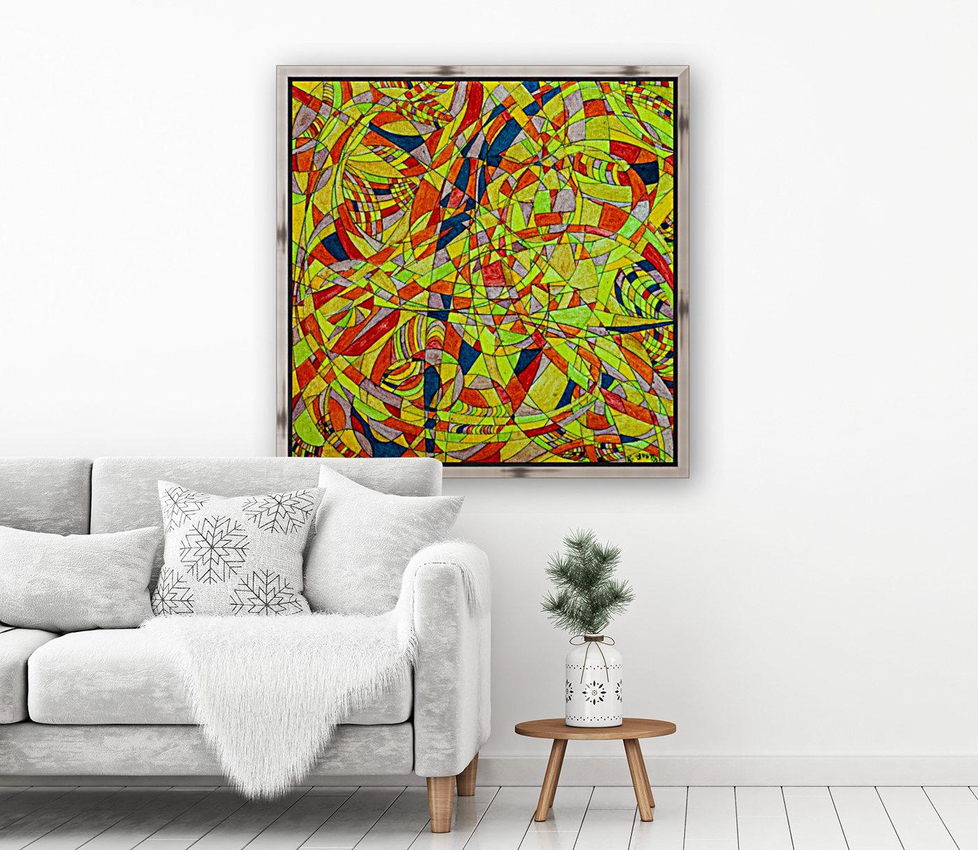 ABSTRACT SHAPES 10  Art