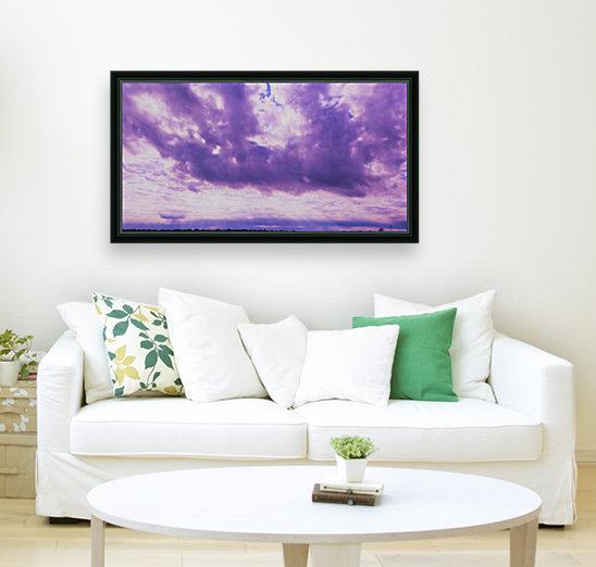 Purple skies  Art