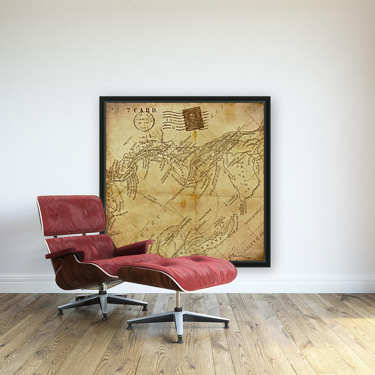 vintage map background paper  Art