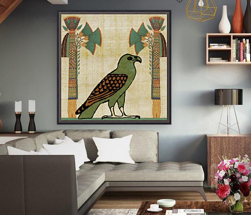 egyptian paper papyrus bird  Art