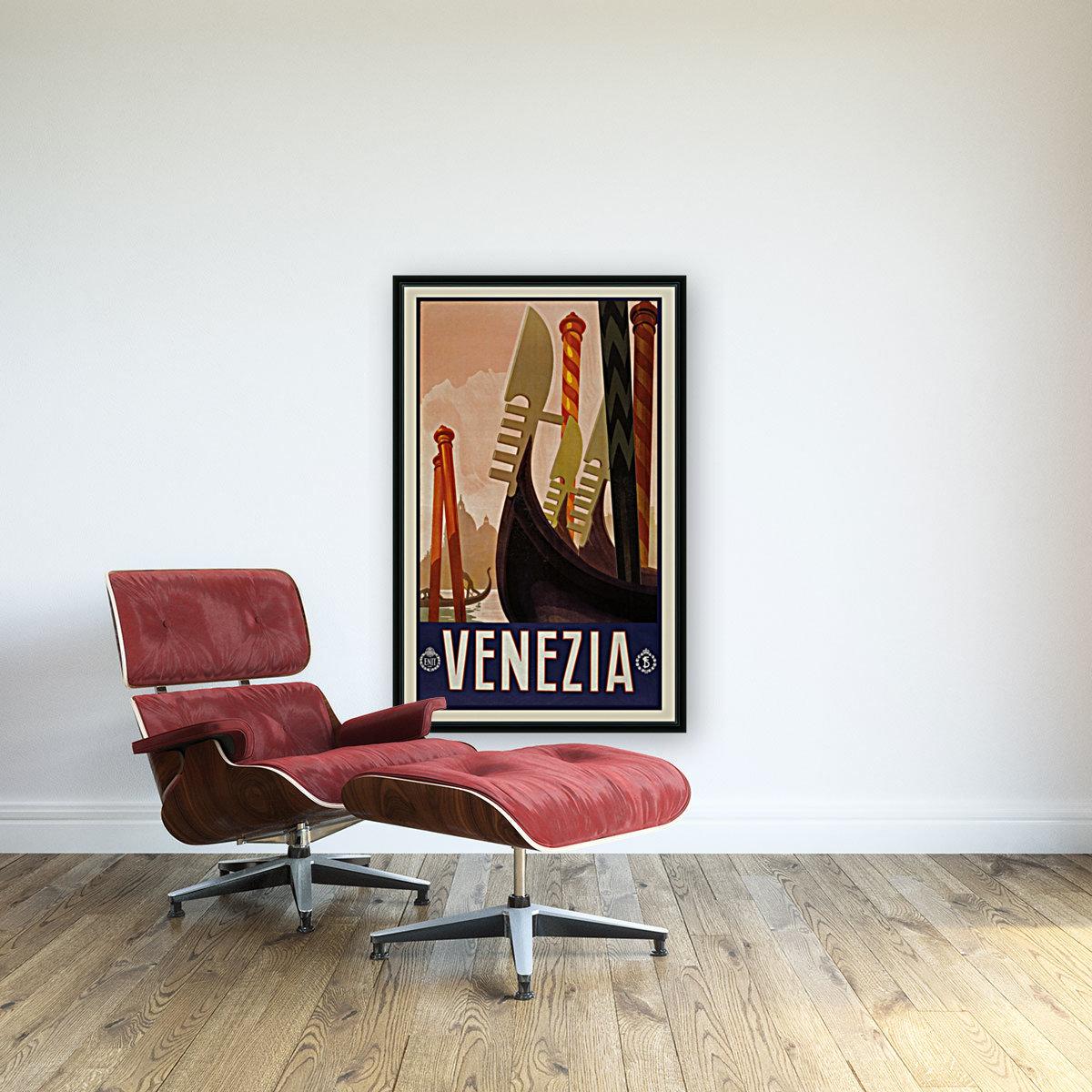 vintage travel travel poster  Art