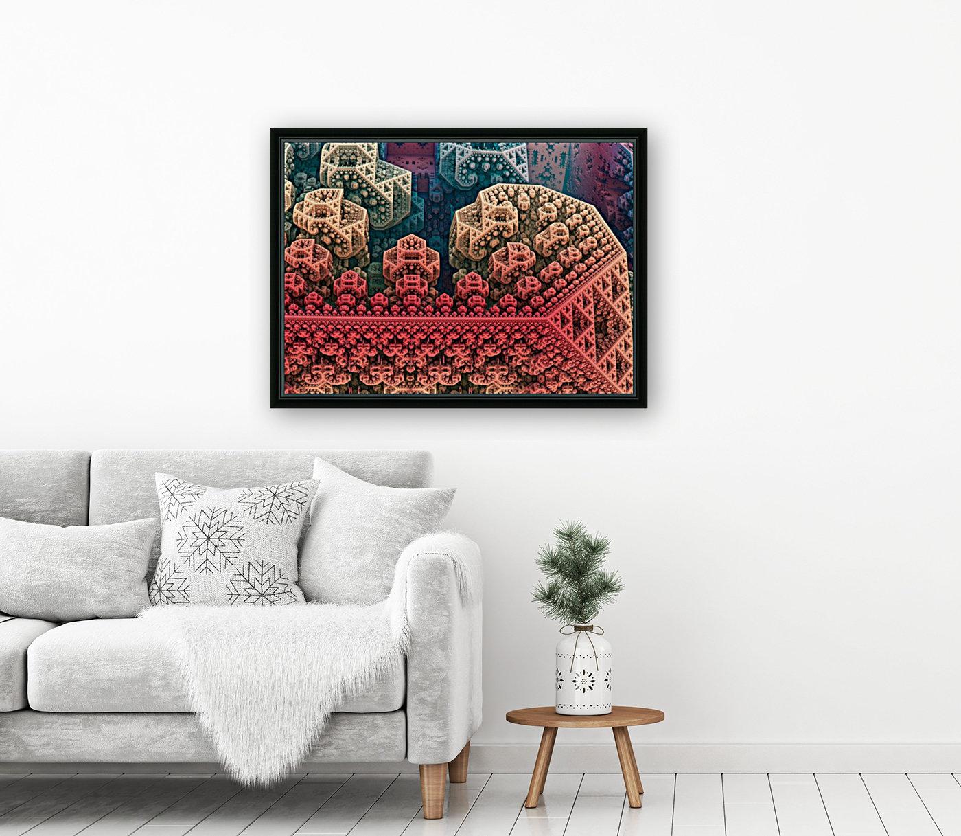 fractals 3d graphics designs    Art