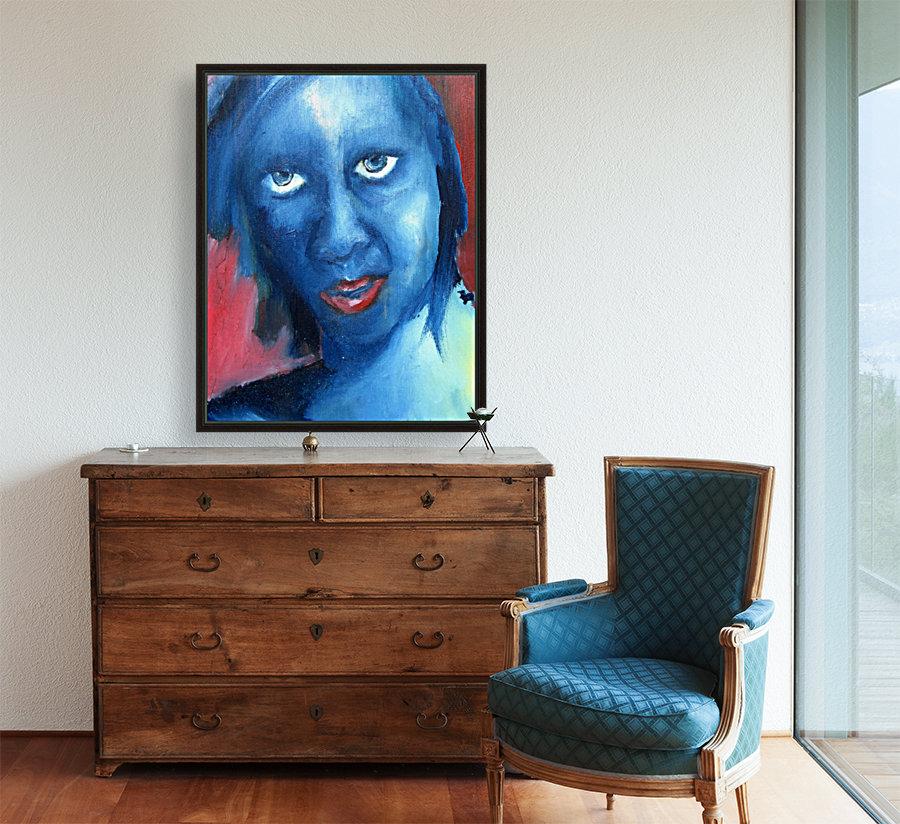 Feeling Blue  Art