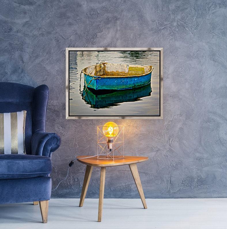 Anchored Boat at Dawn  Art