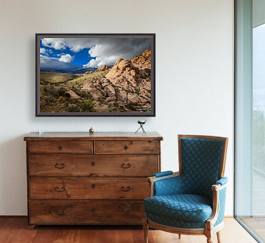 Red Rock Canyon with Floating Frame