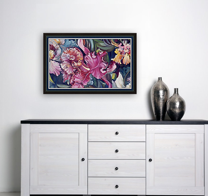Orchids Blooming   Art