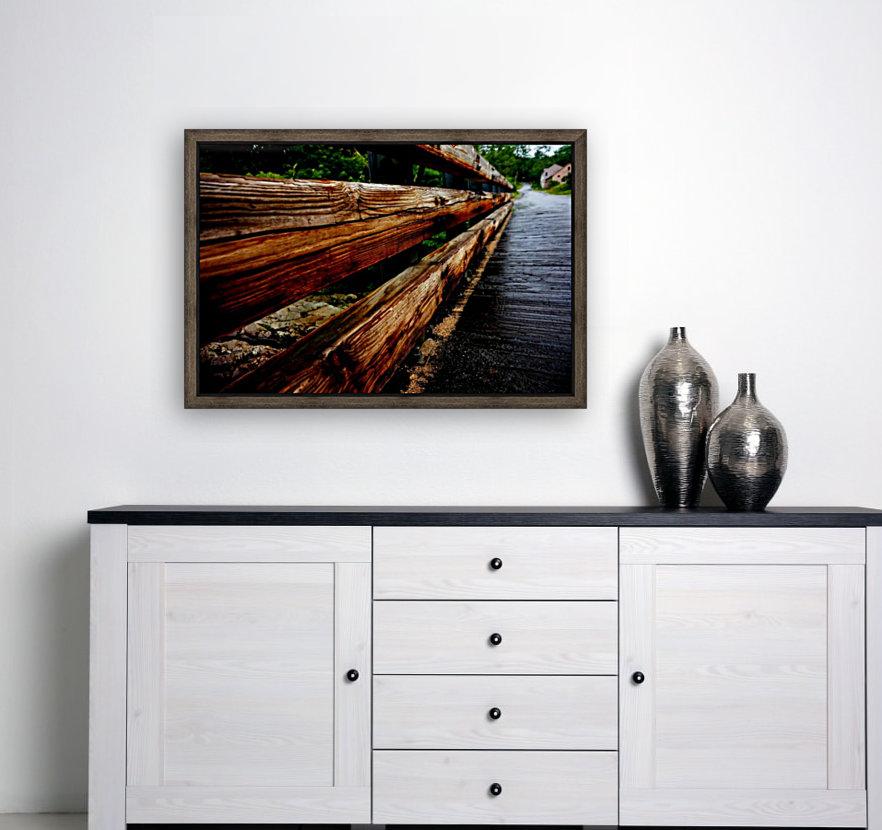 Wooden bridge  Art