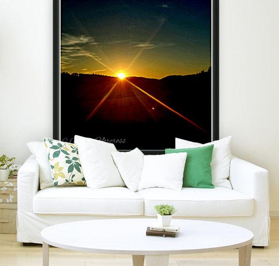 Glinting horizon  Art