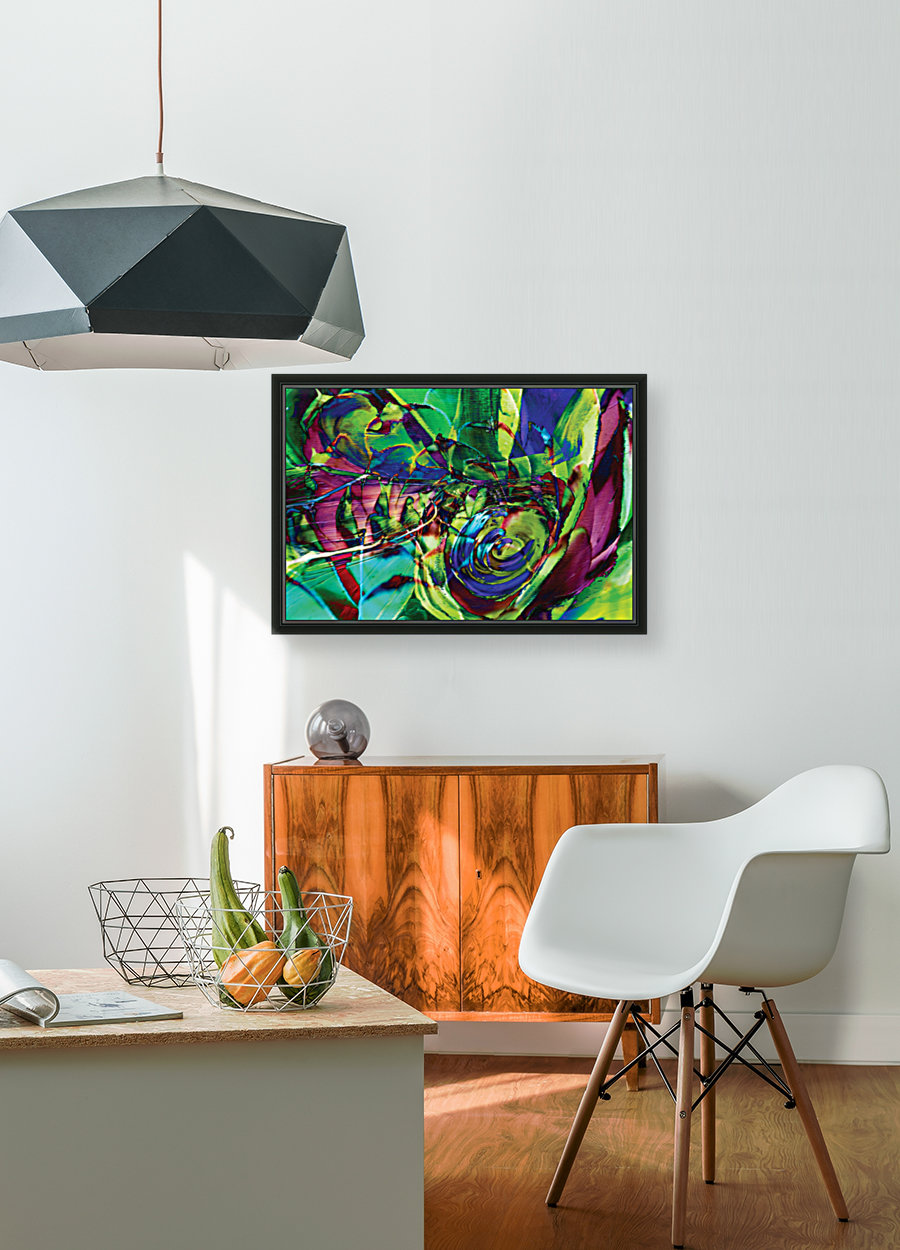 swirling abstract shapes   Art