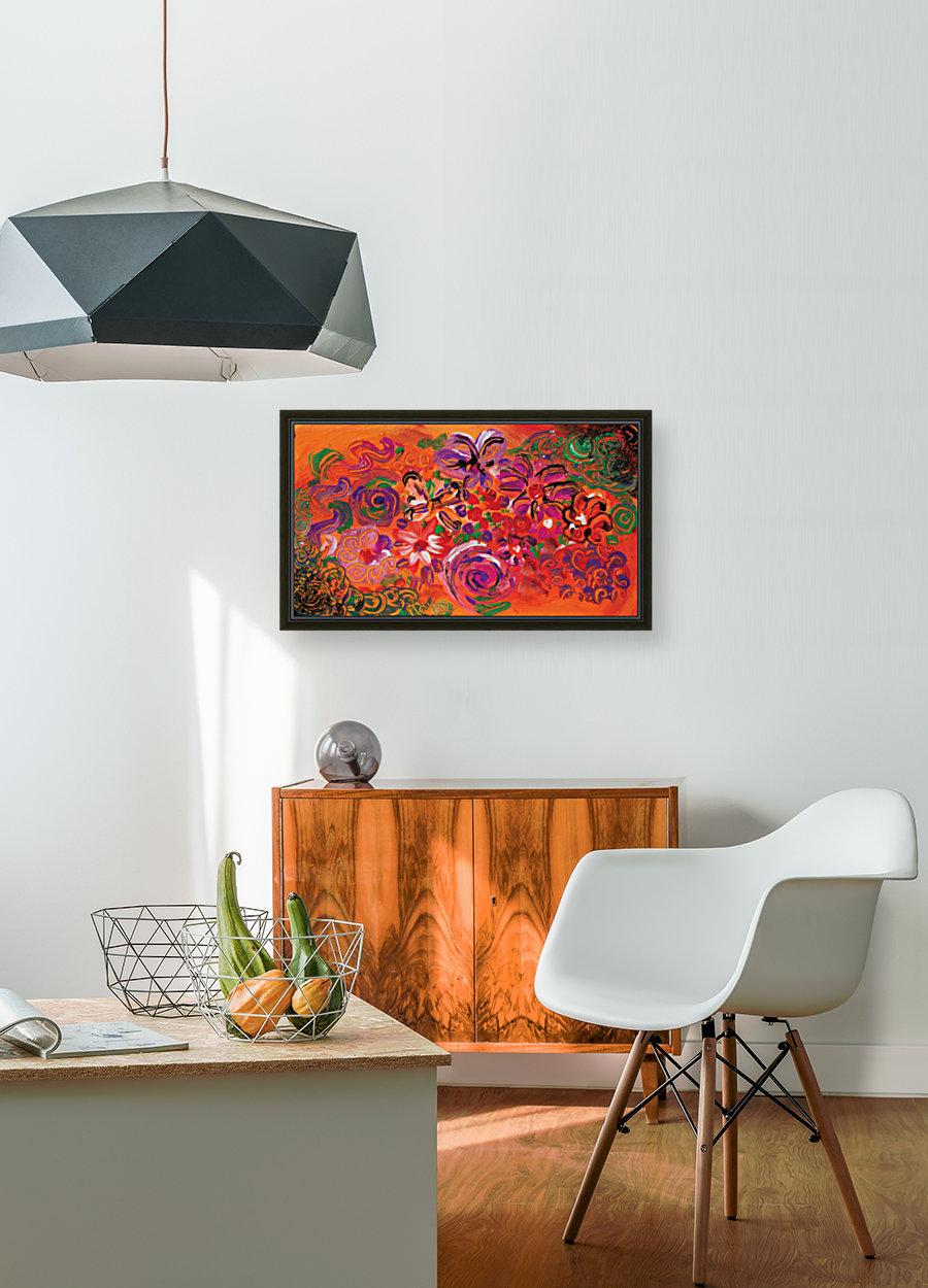 abstract colorful garden  Art