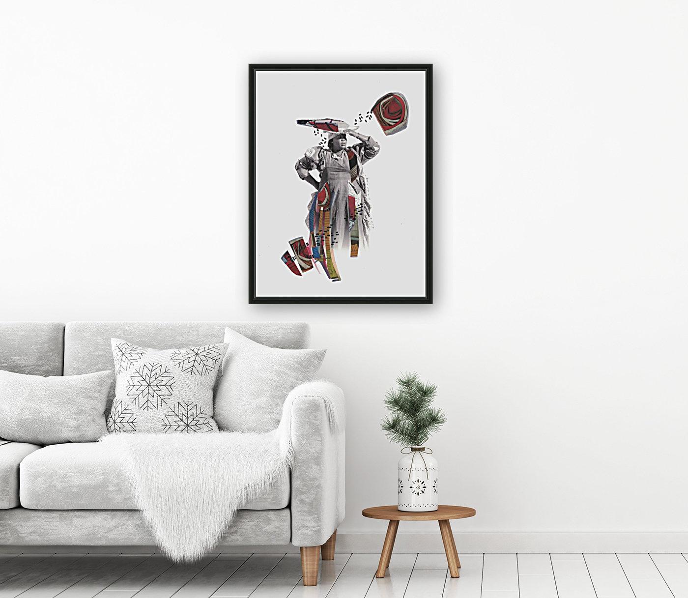 Herero woman 1  Art