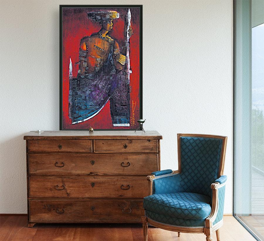 Red Massai  Art