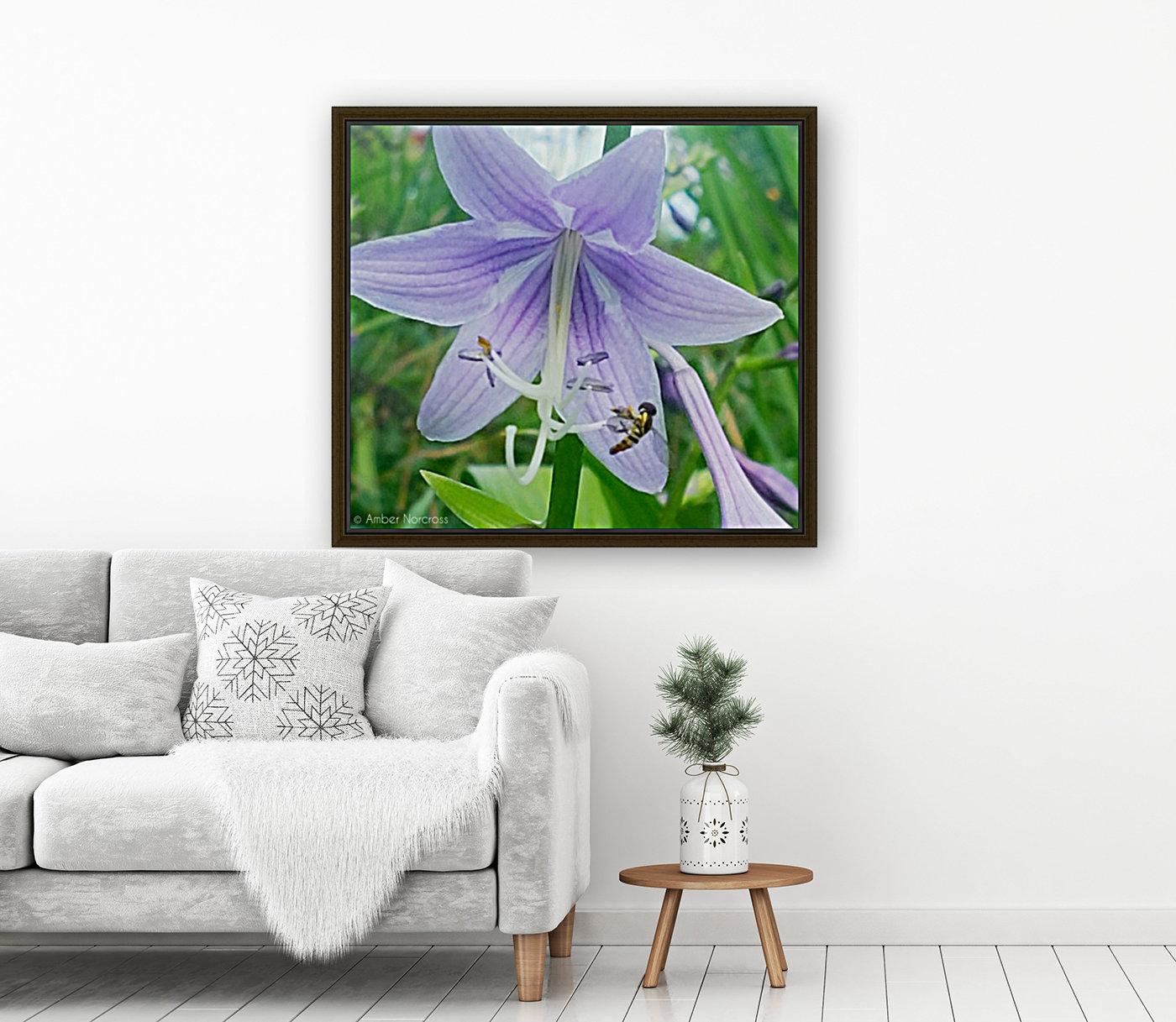Purple flower  Art