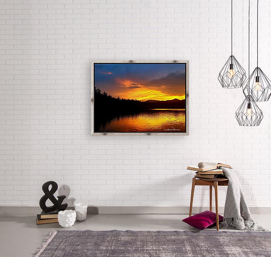 Firey Sunset  Art