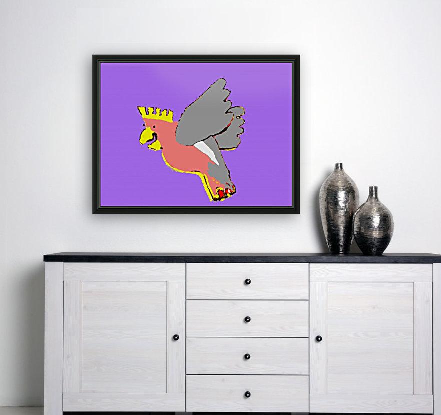 Laughing Galah - Purple  Art