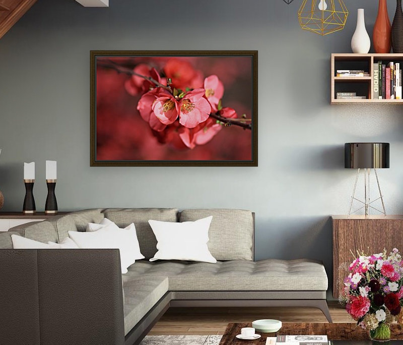 Flowering Quince Of Spring  Art
