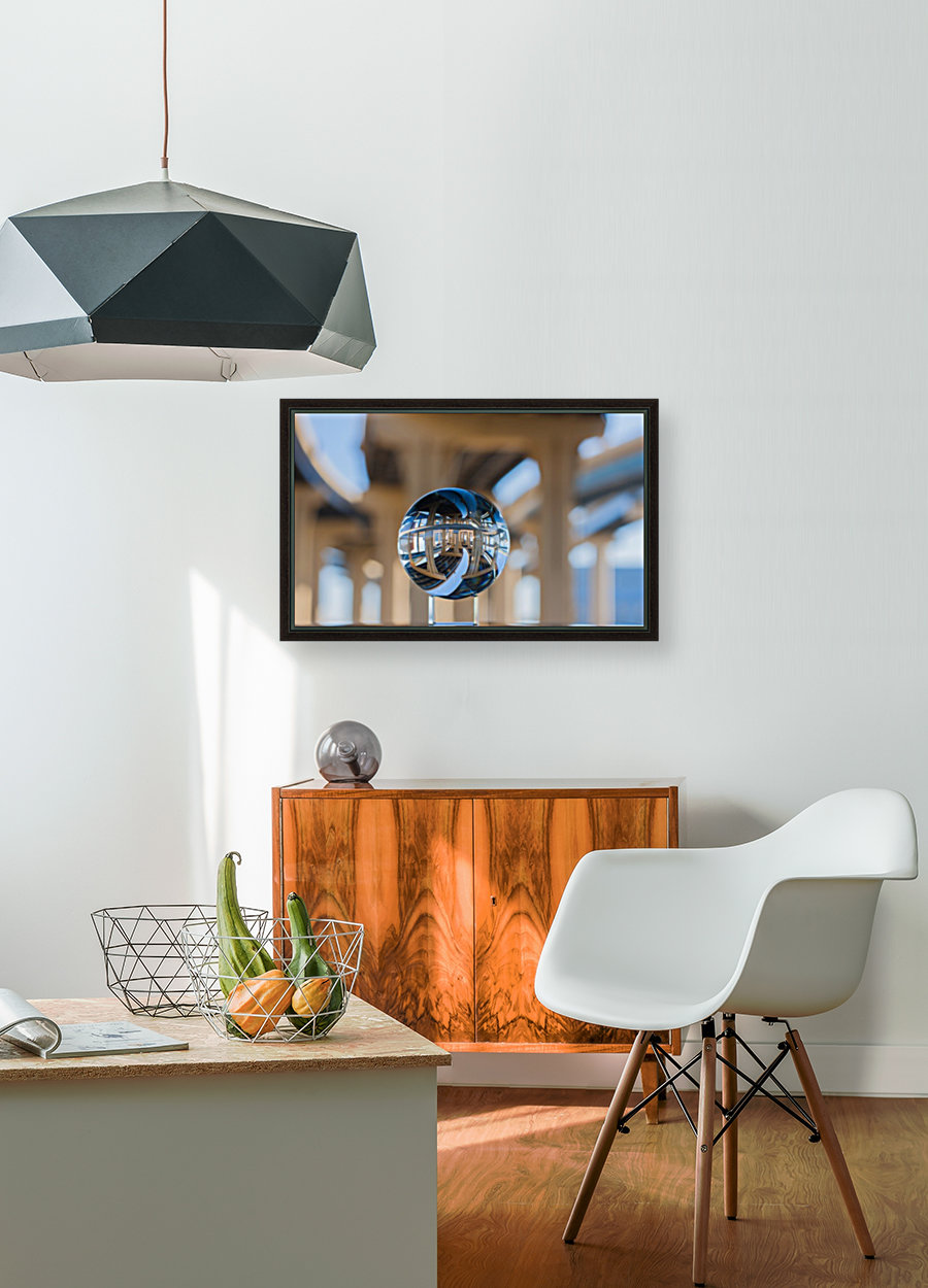 MKE Glass Ball Reflections with Floating Frame