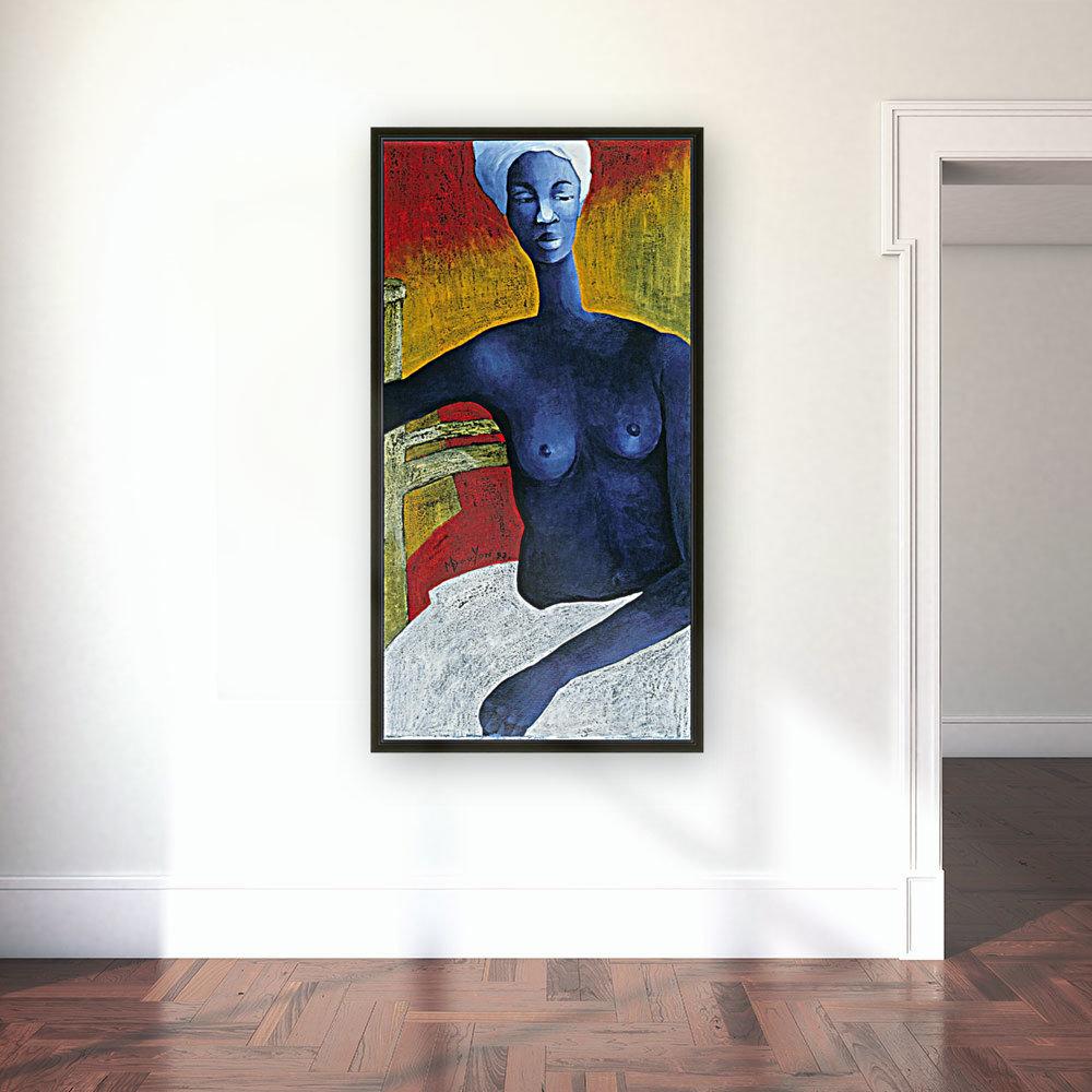 Blue Nude Woman  Art