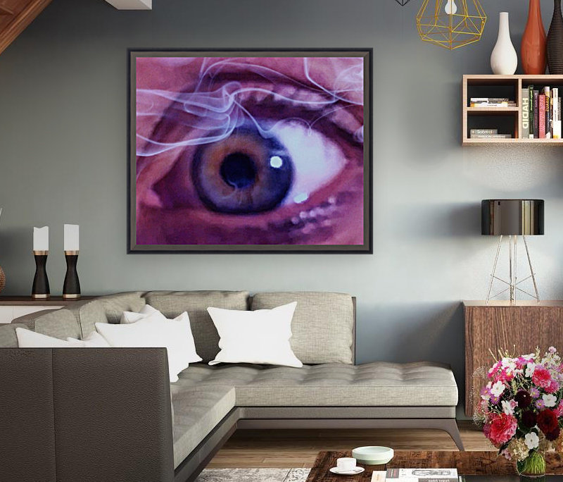 One eye with Floating Frame