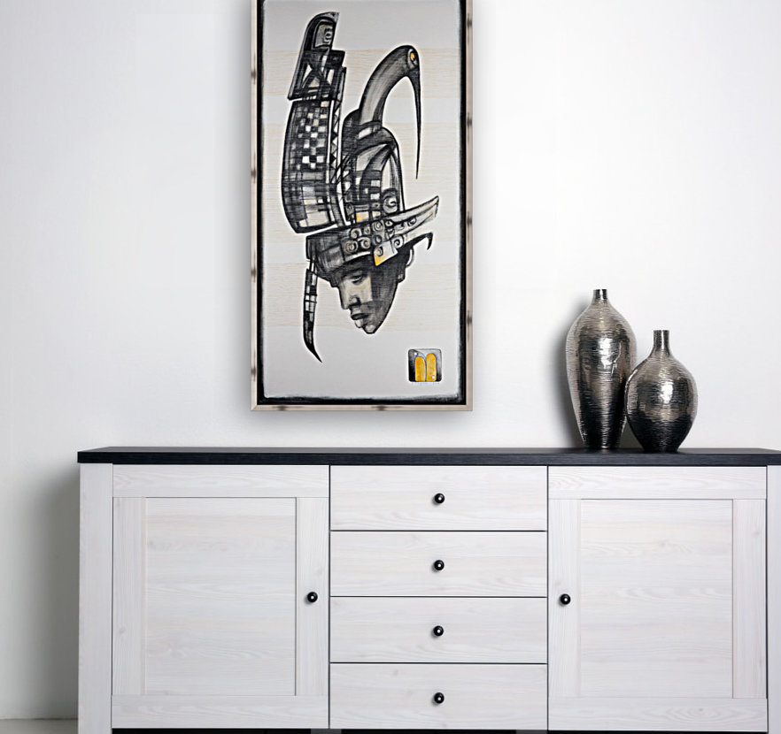 almost black white 6  Art