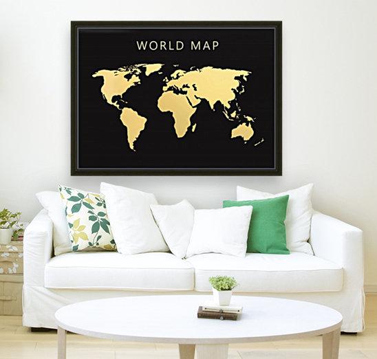 map world 2  Art