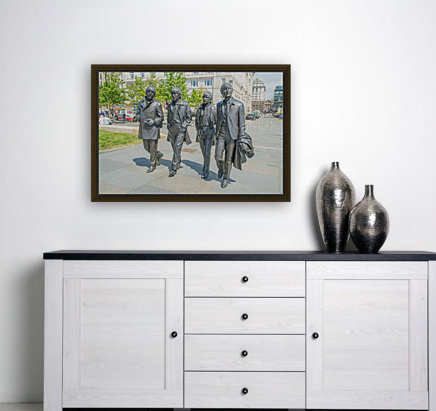 The Beatles Statue  Art