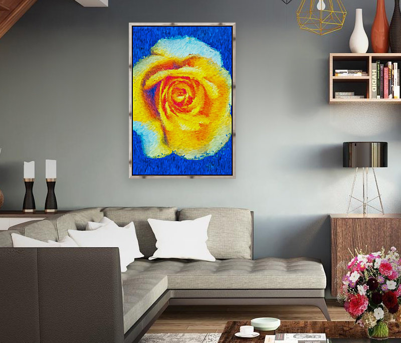 Floating Rose  Art