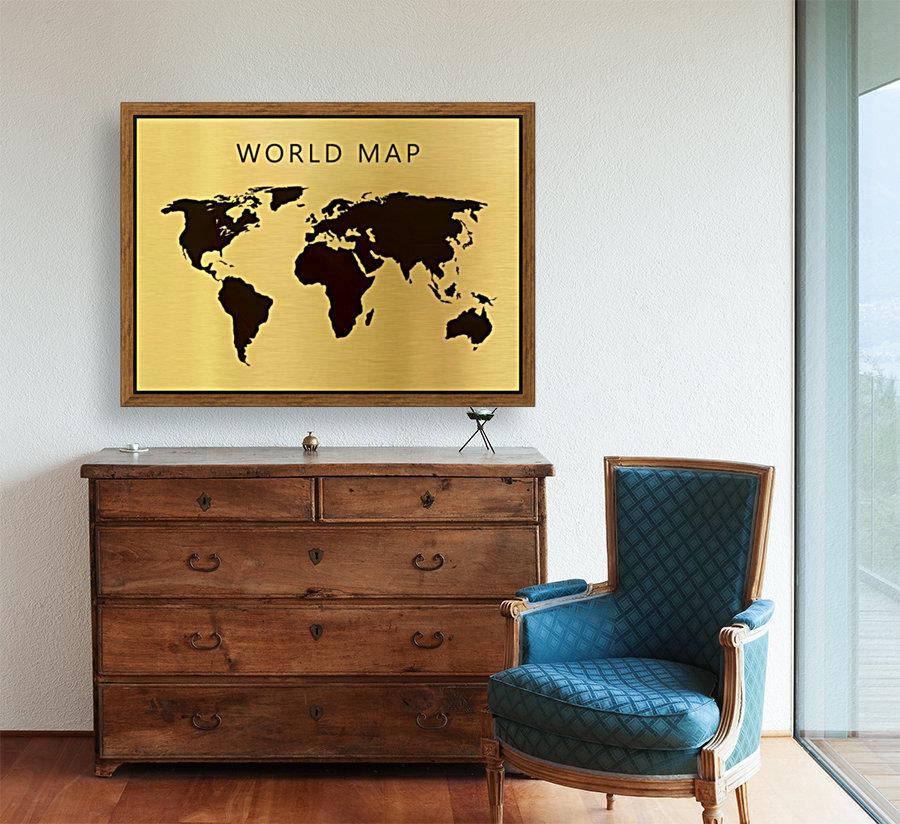 map world 4  Art