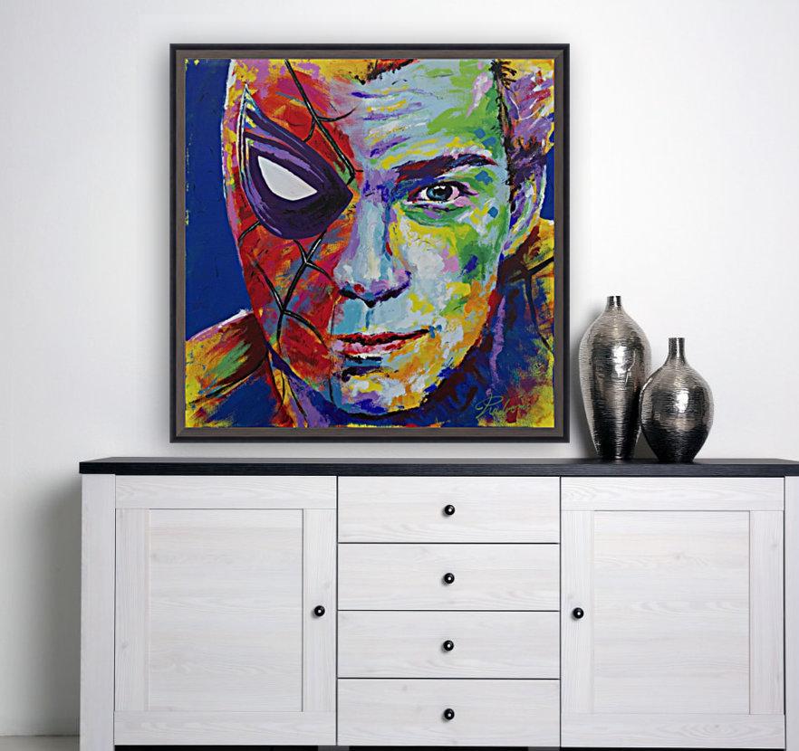Spiderman_Portrait Art - Tadaomi -  Art