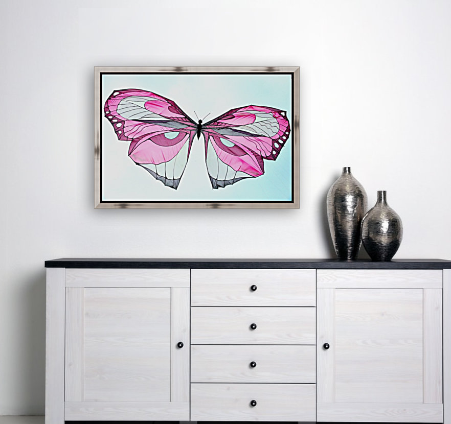 Papillon with Floating Frame