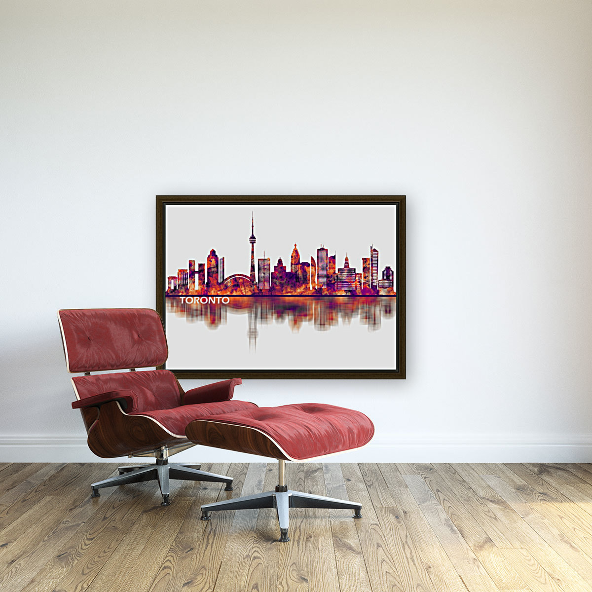 Toronto Canada Skyline with Floating Frame
