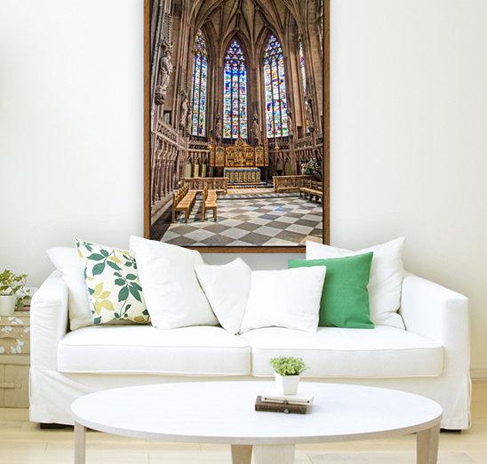 Litchfield Cathedral  Art