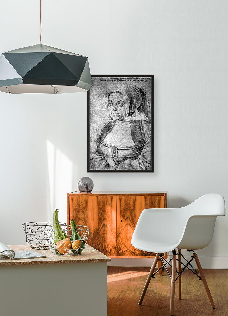 Agnes Durer in Dutch Tracht  Art