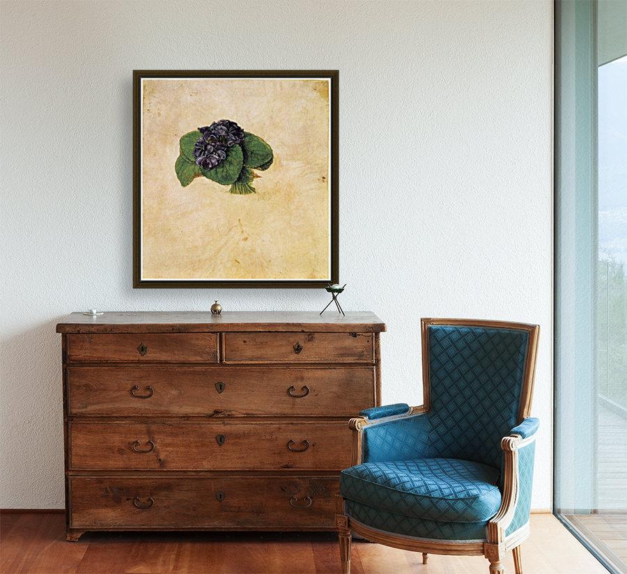 Violet Bouquet  Art