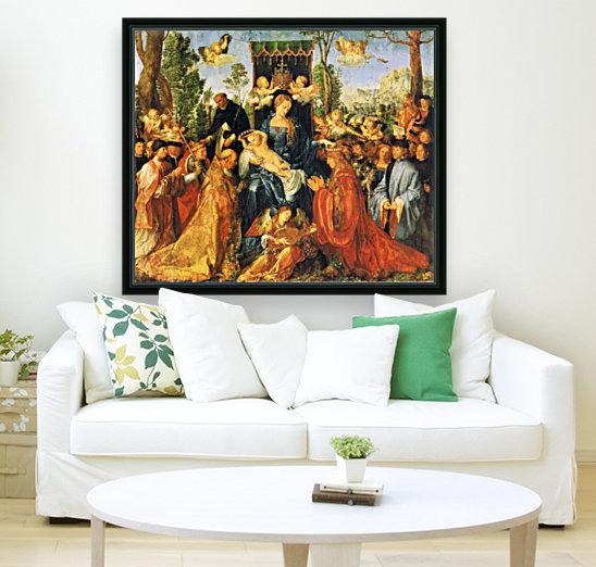 Feast of the Rose Garlands  Art
