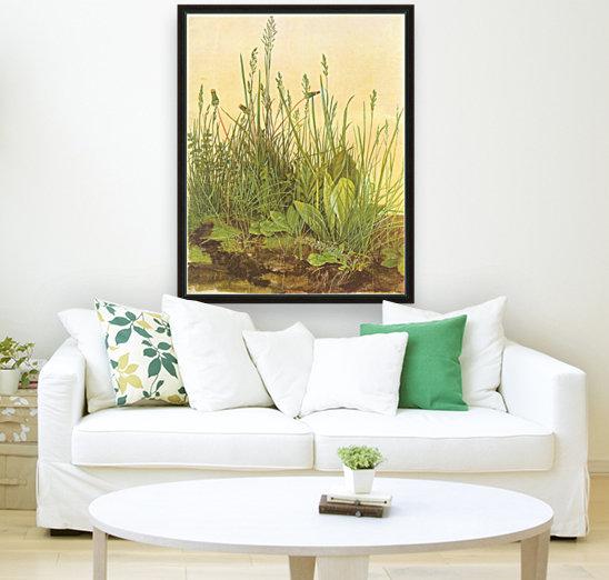 The large turf  Art