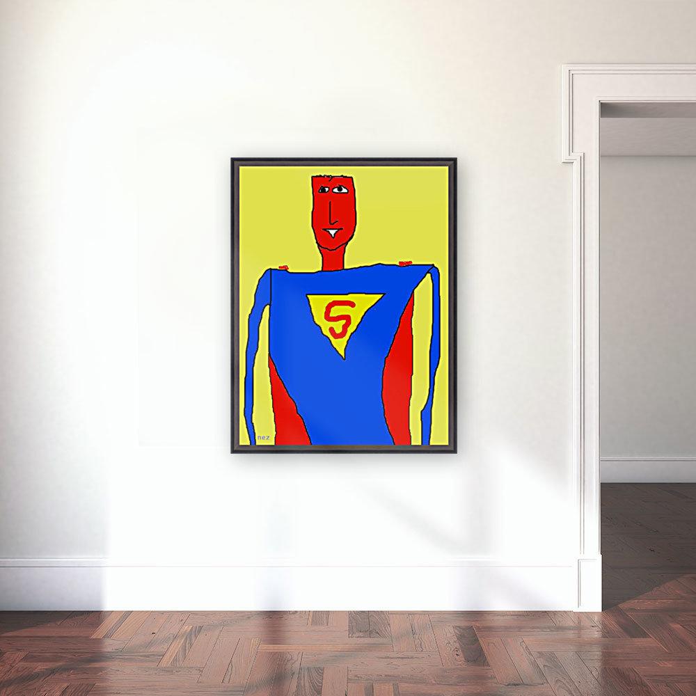 Superman Lite  Art