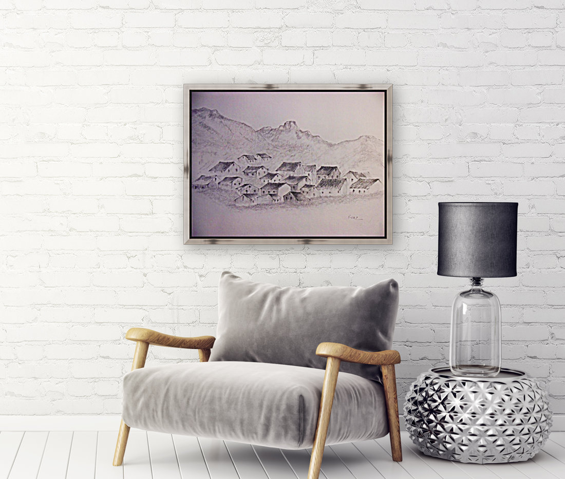 The Hills with Floating Frame