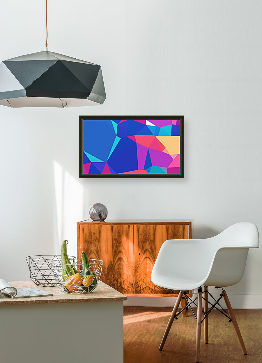 abstract geometric triangular art  Art
