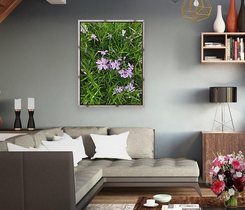 Purple Wild flowers  Art