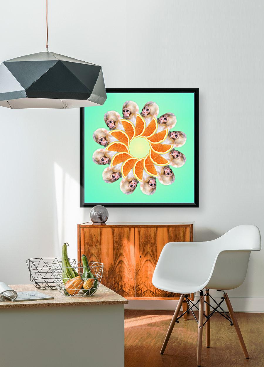 Orange you glad i didnt say Monkey 1080  Art