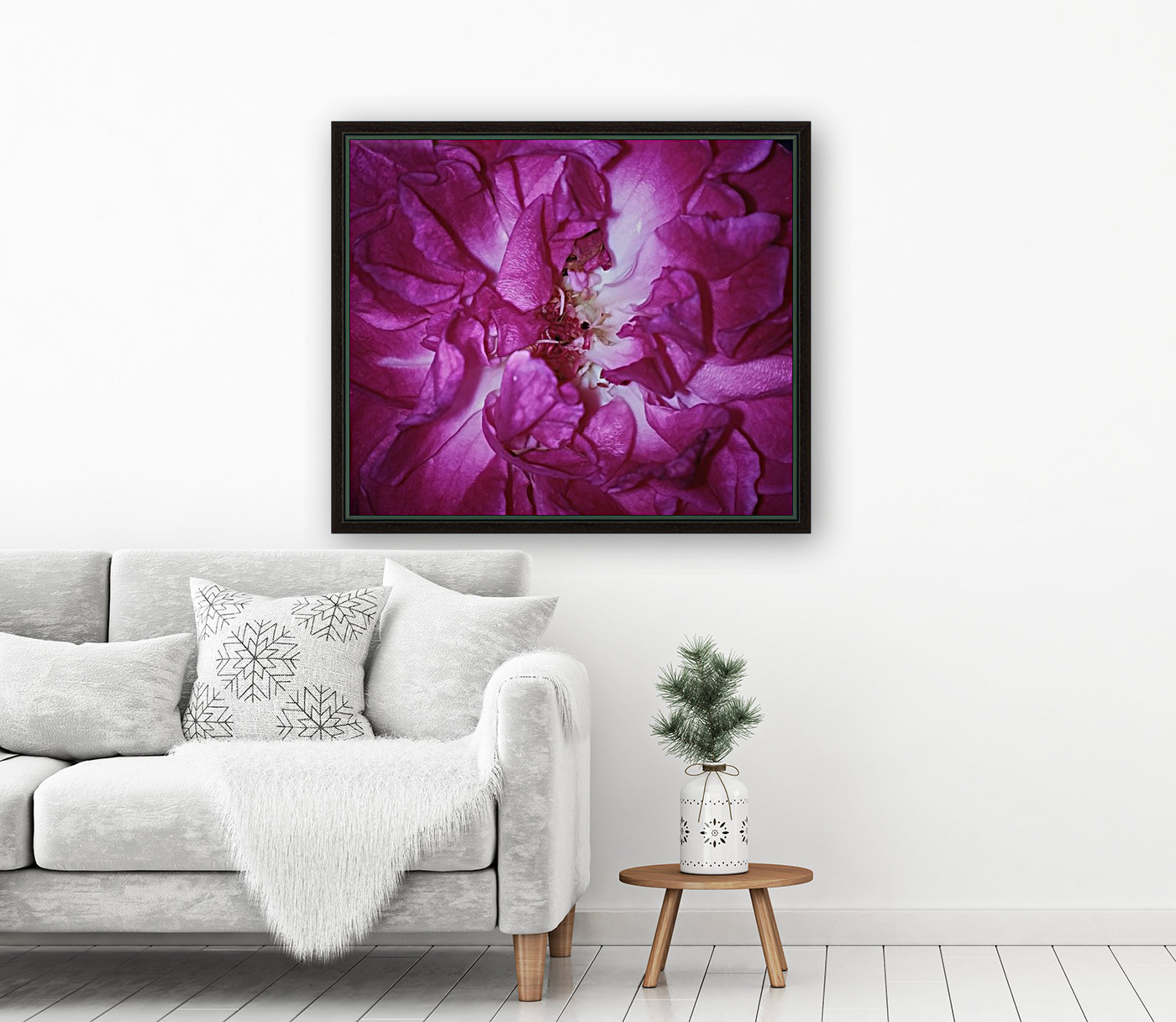 Beautiful Rose   with Floating Frame