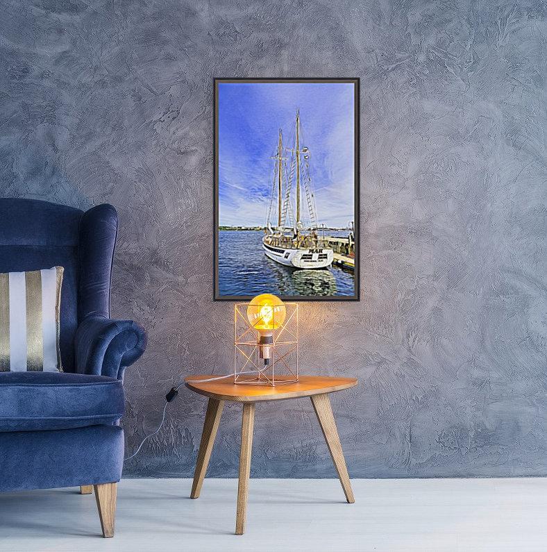 Mar Sailboat in Halifax  Art